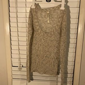 Just jeans open knit sweater